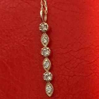 k18ダイヤネックレス(ネックレス)