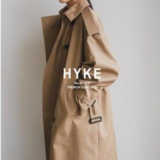 ハイク(HYKE)のhyke トレンチコート ビッグ サイズ1 ハイク(トレンチコート)