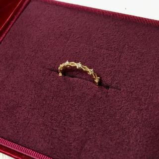 アガット(agete)のagete CLASSIC K14ダイヤピンキーリング(リング(指輪))
