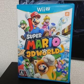 Wii U - スーパーマリオ 3D world wiiu