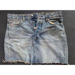 エイチアンドエム(H&M)のタイトスカート ミニスカート(ミニスカート)