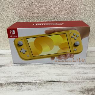 ニンテンドースイッチ(Nintendo Switch)の最新型 Nintendo Switch  Lite イエロー 新品(携帯用ゲーム機本体)