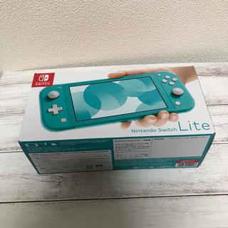 ニンテンドースイッチ(Nintendo Switch)のNintendo Switch Lite ターコイズ 新品(携帯用ゲーム機本体)