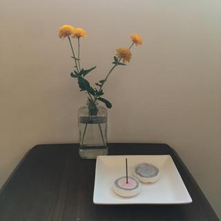 handmade incense stand 香立て(お香/香炉)