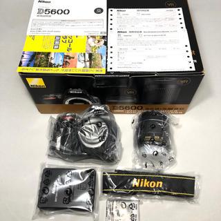 Nikon - 新品未使用 Nikon D5600 AF-P18-55レンズKITメーカー保証付