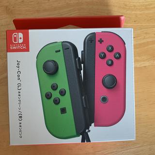 Nintendo JOY-CON (L)/(R)ネオングリーン/ネオンピンク