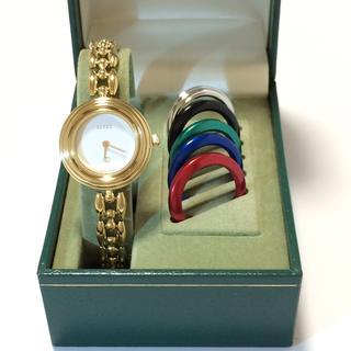 グッチ(Gucci)の7.超美品 グッチ GUCCI 時計 チェンジベゼル(腕時計)