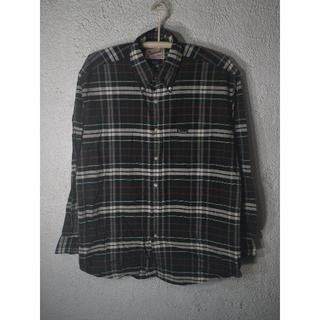 ウールリッチ(WOOLRICH)の7106 WoolRich  長袖 チェック ボタンダウン シャツ ビンテージ(シャツ)