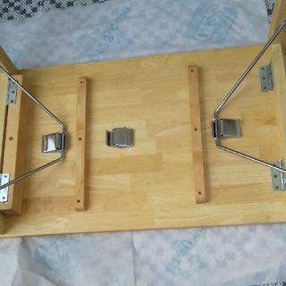 ムジルシリョウヒン(MUJI (無印良品))のてんはな様専用。無印良品組立て式テーブル(コーヒーテーブル/サイドテーブル)