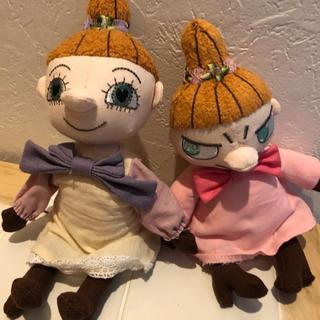 リトルミー(Little Me)のムーミンバレーパーク限定 リトルミイ ミムラ姉さん ぬいぐるみ(ぬいぐるみ)