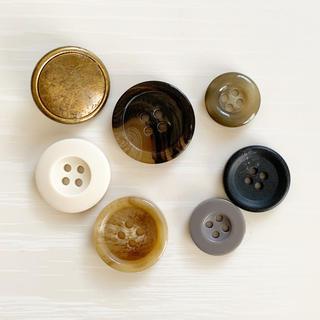 ボタン 7コセット(各種パーツ)