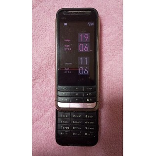 ソニー(SONY)のSony Ericsson iida G9 au mirror + pink(携帯電話本体)