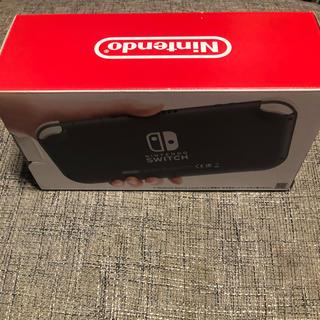 ニンテンドースイッチ(Nintendo Switch)のみち様専用  Switch Liteグレー(家庭用ゲーム機本体)