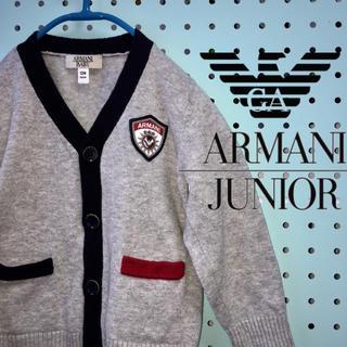 ARMANI JUNIOR - 美品☆ARMANI BABY  アルマーニベビー  カーディガン