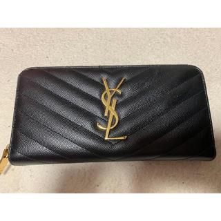サンローラン(Saint Laurent)のイヴサンローラン 長財布 Yves Saint Laurent 美品(財布)