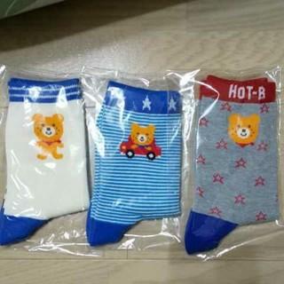 ミキハウス(mikihouse)の新品未使用 ミキハウス 靴下 ソックスパック  17-19cm(靴下/タイツ)