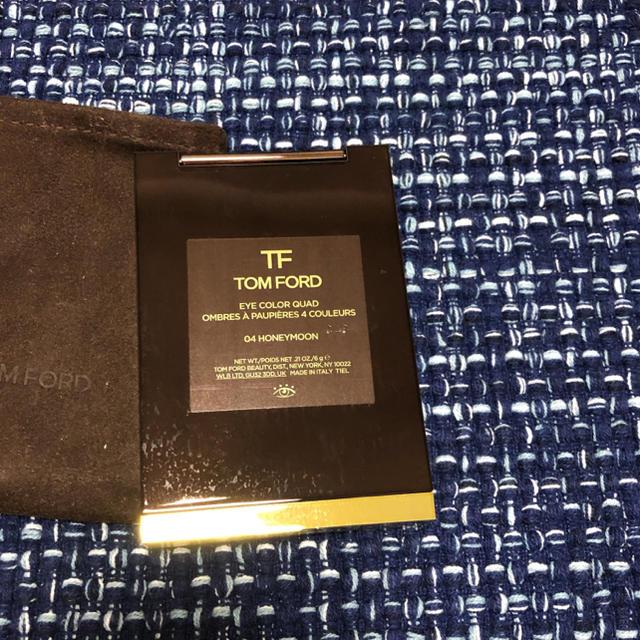 TOM FORD(トムフォード)のトム フォード ビューティ アイ カラー クォード 4A ハネムーン 10g コスメ/美容のベースメイク/化粧品(アイシャドウ)の商品写真