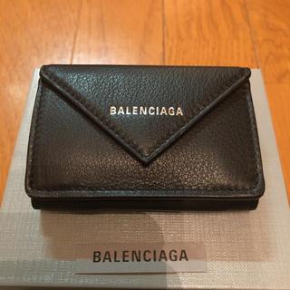 Balenciaga - 新品 バレンシアガ ミニ財布 ペーパー ミニウォレット 三つ折り 小銭入れ付き