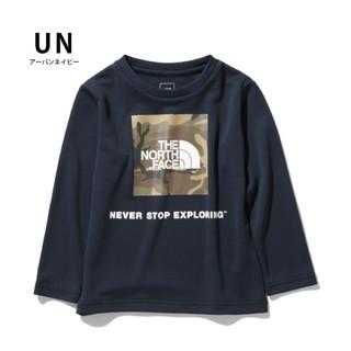 THE NORTH FACE - 【新品】ノースフェイス キッズ 140  ロングスリーブ   長袖Tシャツ