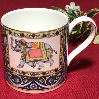 ウェッジウッド(WEDGWOOD)のウェッジウッド  ブルーエレファント マグカップ(グラス/カップ)