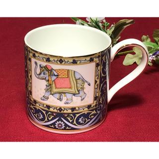 ウェッジウッド(WEDGWOOD)のウェッジウッド  ブルーエレファント マグカップ 未使用美品(グラス/カップ)