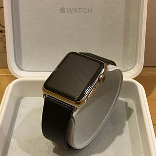 Apple Watch - Apple Watch 42mm ステンレス クラシックバックル