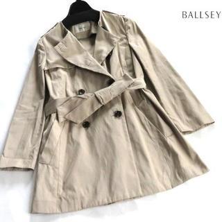 ボールジィ(Ballsey)の美品 BALLSEY ボールジィノーカラー ベルト付き コート 38(トレンチコート)