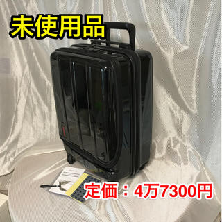 BRIEFING - 【未使用品】BRIEFING スーツケース ☆鏡面仕上げブラック☆H-34SD