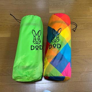 ドッペルギャンガー(DOPPELGANGER)のDOD インフレータブルキャンピングマット2人用サイズ 2個セット(寝袋/寝具)
