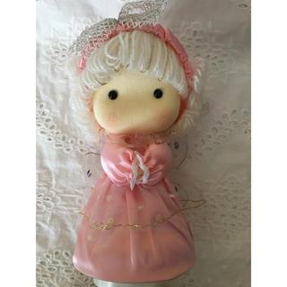 ロミオとジュリエットのオルゴール 可愛いピンクの天使(オルゴールメリー/モービル)