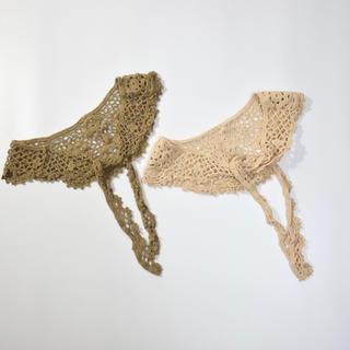 キャラメルベビー&チャイルド(Caramel baby&child )のフラワー編みストール キッズストール(マフラー/ストール)