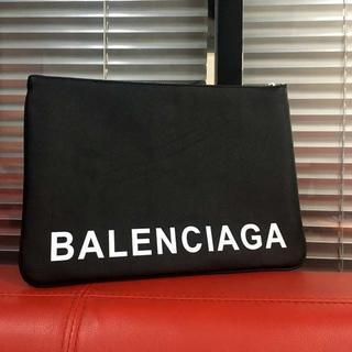 Balenciaga - ほぼ未使用/クラッチバッグ ブラック☆バレンシアガ