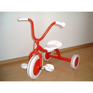ボーネルンド(BorneLund)のボーネルンド ウィンザー社 ペリカンデザイン 三輪車 Vハンドル WI41400(三輪車)