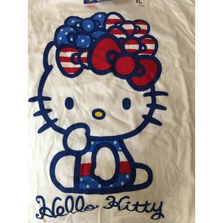 サンリオ(サンリオ)のHello kitty コラボTシャツ 未使用 七分袖(Tシャツ(半袖/袖なし))