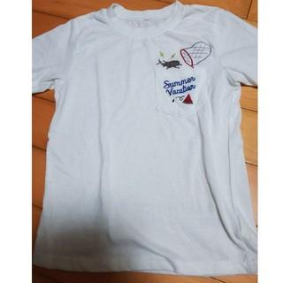 カブト虫 Tシャツ 130 男の子