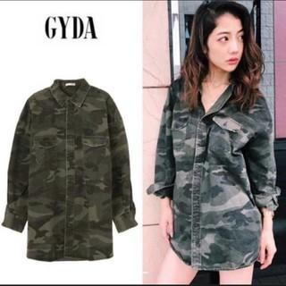 ジェイダ(GYDA)のGYDA カモフラ ロングシャツ(ミリタリージャケット)