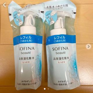 ソフィーナ(SOFINA)のソフィーナボーテ 高保湿化粧水 しっとり つめかえ(130ml)(化粧水/ローション)