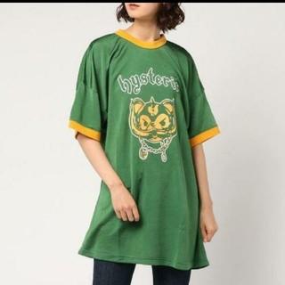 ヒステリックグラマー(HYSTERIC GLAMOUR)のヒステリックグラマー トップス Tシャツ ワンピース ベア フックベア キューン(Tシャツ(半袖/袖なし))