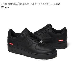 Supreme - 【即日発送可】Supreme / Nike Af1 黒 26.0