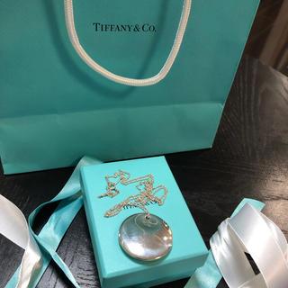 ティファニー(Tiffany & Co.)のティファニーシルバーロングネックレスエルザペレッティボーンカフティースマイル(ネックレス)