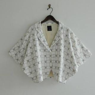 ミナペルホネン(mina perhonen)のmina perhonen/cantuccio コットン刺繍入り ジャケット (テーラードジャケット)