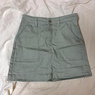 エイチアンドエム(H&M)の台形スカート💗新品(ミニスカート)