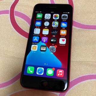 Apple - iphoneSE2 128GB レッド 中古