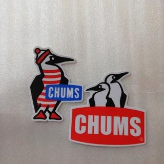 CHUMS - ★チャムスCHUMS防水ステッカー2枚セット★