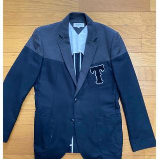 トミーヒルフィガー(TOMMY HILFIGER)のテーラード ジャケット トミー ヒルフィガー 秋 冬 グレー 紺(テーラードジャケット)