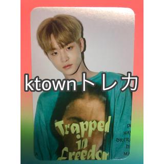 アイコン(iKON)のジフン ktown トレカ treasure(アイドルグッズ)