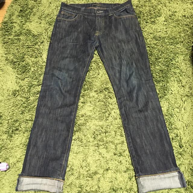 デニム インディゴブルー メンズのパンツ(デニム/ジーンズ)の商品写真