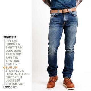 ヌーディジーンズ(Nudie Jeans)の美品【NUDIE JEANS】SLIM JIM スリムジム ヌーディージーンズ(デニム/ジーンズ)