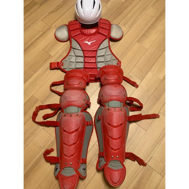 MIZUNO(ミズノ)のキャッチャー防具 ミズノ スポーツ/アウトドアの野球(防具)の商品写真