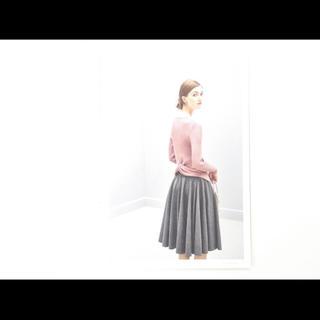 フォクシー(FOXEY)の【美品】FOXEY♢ Elegant Back♢ダスティローズ♢(カットソー(長袖/七分))